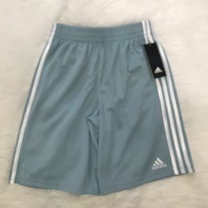 NEW wTag-Boy's ADIDAS Blue w/White Shorts M 10/12